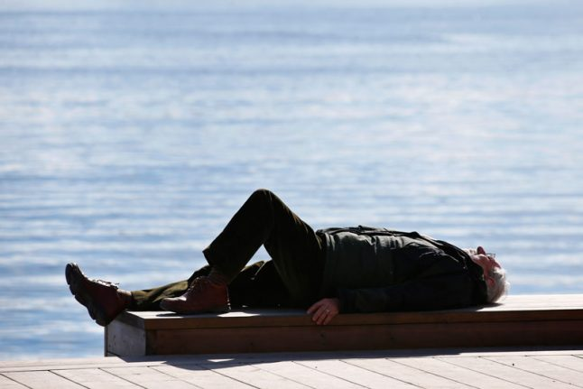 Sweden, get out and enjoy the weekend because warm weather won't last