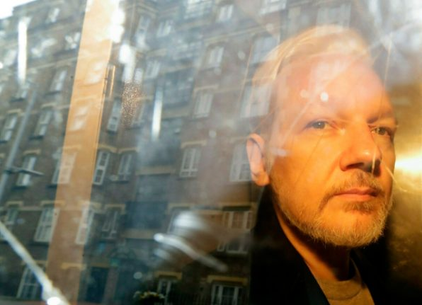 Swedish court schedules Assange detention hearing for June 3rd