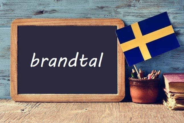 Swedish word of the day: brandtal