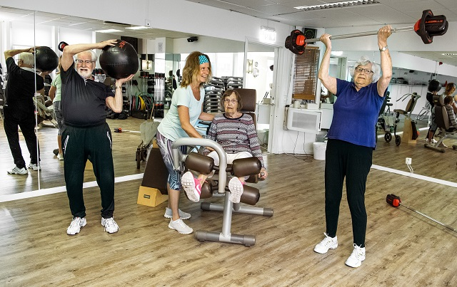 Meet the Swedish over-90s who are regulars at the gym