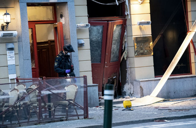 Number of bomb attacks in Sweden has surged this year