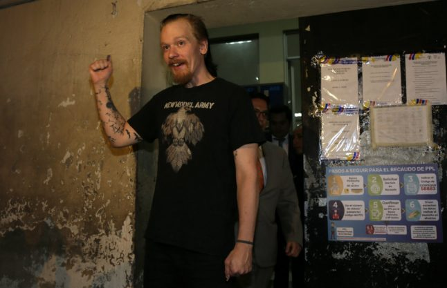 Release of Swede linked to Assange ordered by Ecuador court