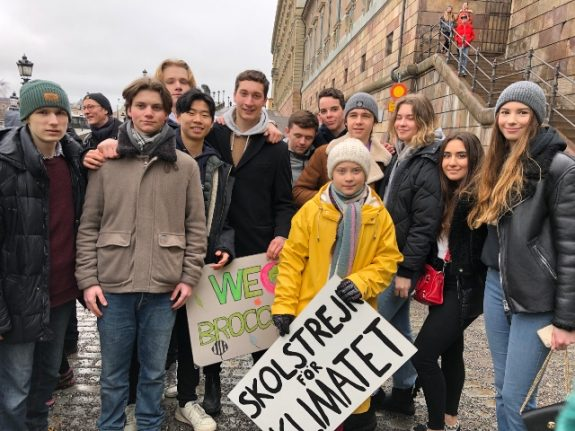 'Why we marched with Greta': Sweden's students speak