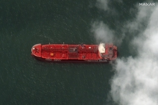 Swedish owners make first contact with crew on tanker seized by Iran