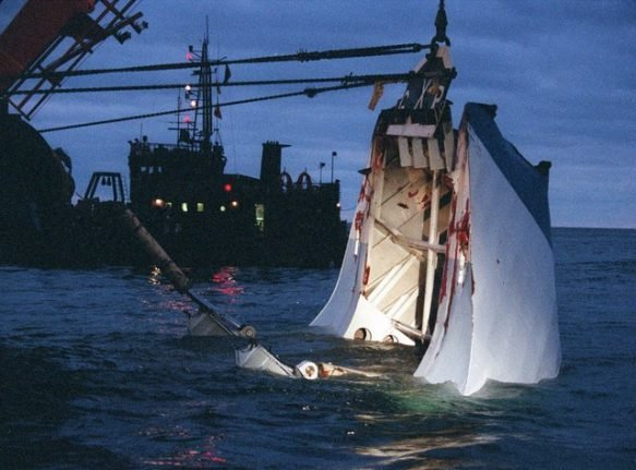 French court rejects damages over 1994 Stockholm-Tallinn ferry disaster