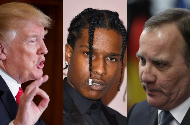 Trump calls Swedish PM to 'vouch for ASAP Rocky's bail'