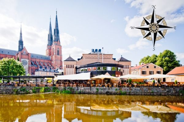 Plan a trip to Uppsala this August with our interactive map