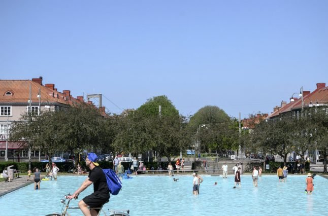 Nordic countries sizzle as European heatwave moves north