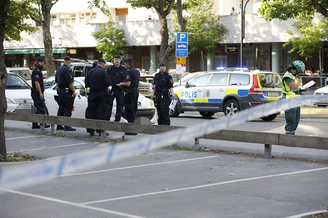 One suspect held after Stockholm shootings leave two dead and others injured