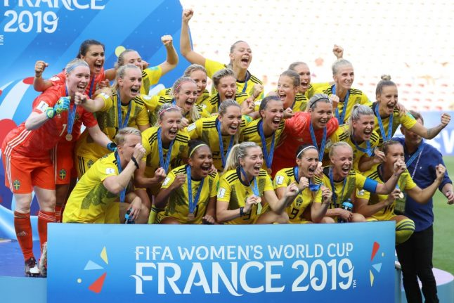 WATCH: Sweden down England to finish third at World Cup