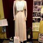 A dress used during a performance in Germany. Leander was successful there during the 1930s and 1940s, and faced criticism for this but later rejected allegations of sympathy towards the Nazi regime. Nazi Propaganda Minister Josef Goebbels dubbed her an Enemy of Germany. Photo: Micke Bayart
