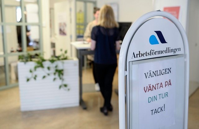 Swedish unemployment rate rises for first time in two years