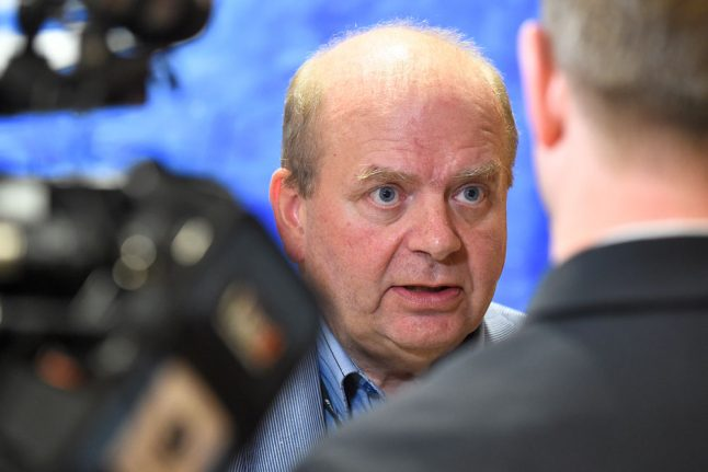 Former Swedish minister charged with sexual molestation
