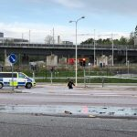 Building burns to ground after explosion north of Stockholm