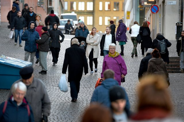 Where do Sweden's immigrants come from in 2019?