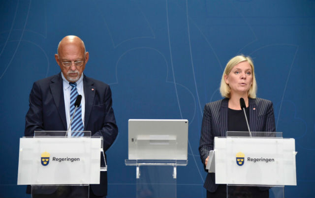 Sweden: We are prepared for a no-deal Brexit