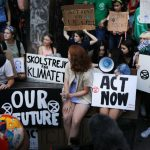 Hundreds of US teens join Greta Thunberg in UN protest