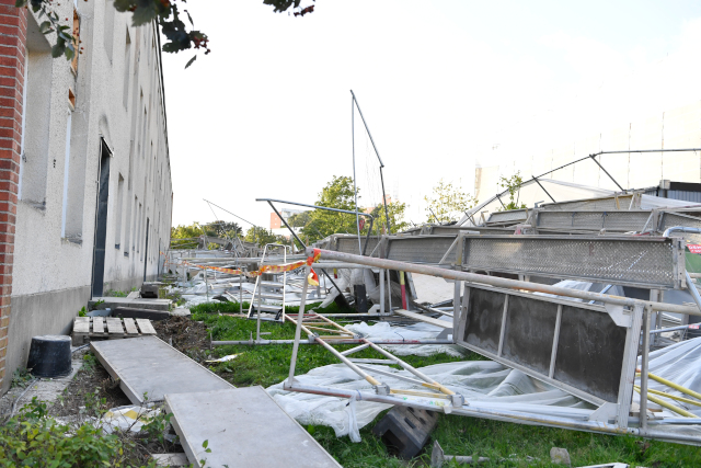 Strong winds wreak havoc as first autumn storm of the year batters Sweden