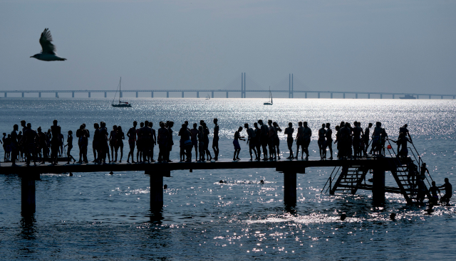 Did you think it was unusually warm in Sweden last week? You weren't wrong