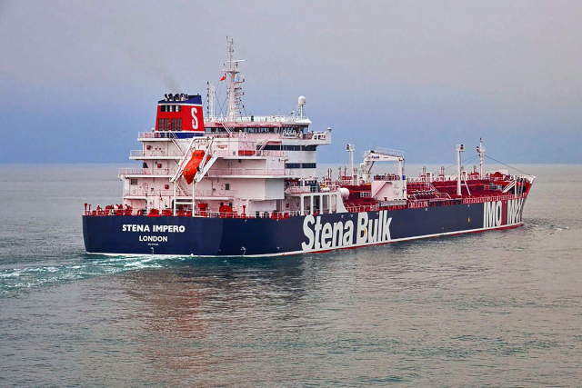 Seven crew members of Swedish-owned ship seized by Iran to be released