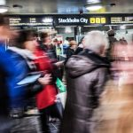 Stockholm commuter train station reopens after fire