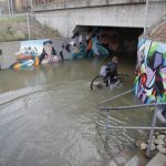 In Pictures: Flooding after torrential rain lashes Gothenburg