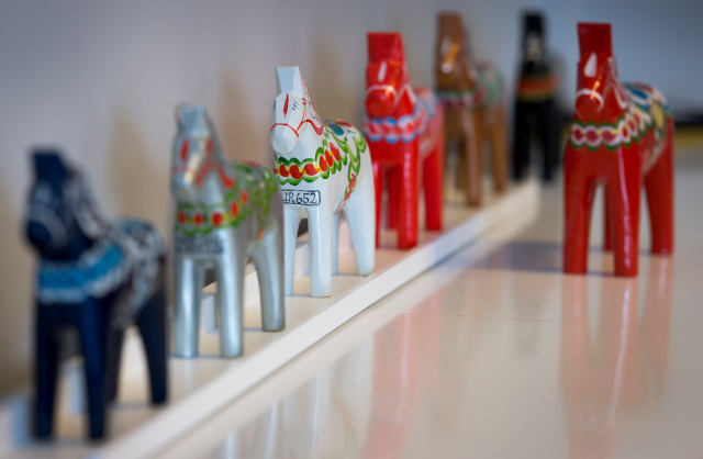 Five questions for the man painting the world's largest Dala Horse