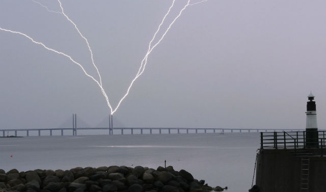 Lightning strikes in Sweden up six-fold over last two years