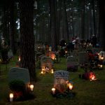 How is All Saints Day marked in Sweden?