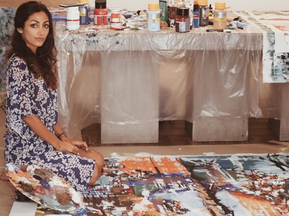 Meet the Swedish-Persian artist inspired by Nordic wilderness