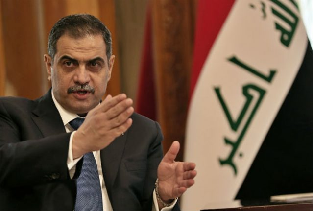 Iraq's defence minister 'reported for alleged benefits fraud in Sweden'
