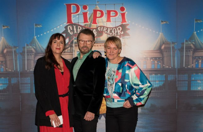Abba duo to collaborate on Pippi Longstocking circus show