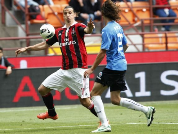 Sweden's Zlatan offered six-month AC Milan deal: report