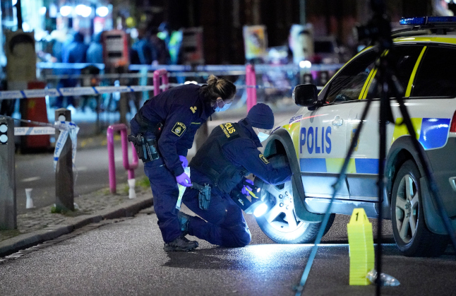 Swedish police reveal latest move to crack down on gang crime