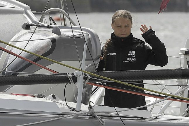 Sweden: Thunberg 'looking for lift across Atlantic' for Spanish climate summit