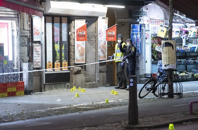 Violent crime: Swedish police outline plan to deal with 'exceptional situation'