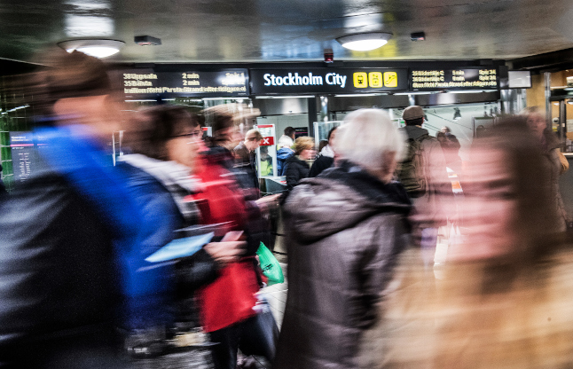 UPDATED: Stockholm train services hit by delays and cancellations