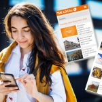 Read the latest news from Sweden via The Local's smartphone apps