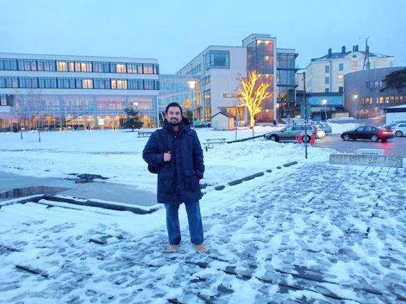 Acclimatising to Sweden's (much) colder climate