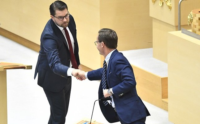 First meeting between Sweden Democrats and Moderate Party leaders