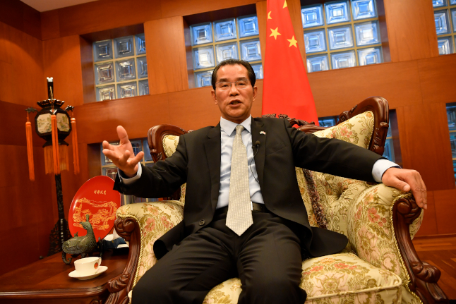 China cancels business trips to Sweden over diplomatic row