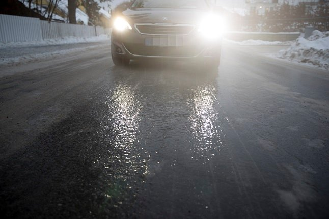Warnings for icy conditions across most of Sweden