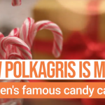 Watch: How to make Sweden's iconic polkagris candy for Christmas