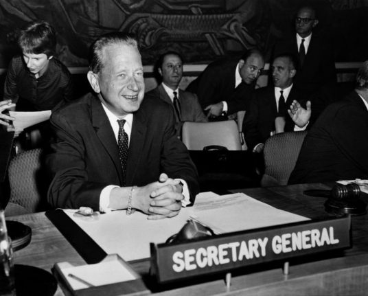 UN extends investigation of Swedish leader's mysterious 1961 death