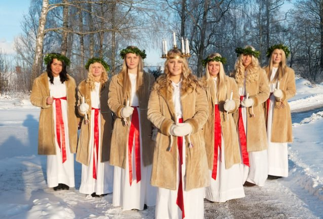 Who is Lucia and why does she have her own day in Sweden?