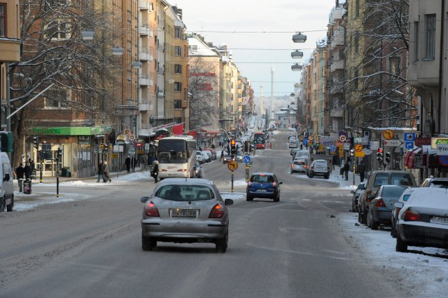 This Stockholm street just became the first in Sweden to ban old diesel cars