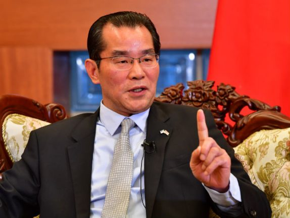 Sweden summons Chinese ambassador over threats to media