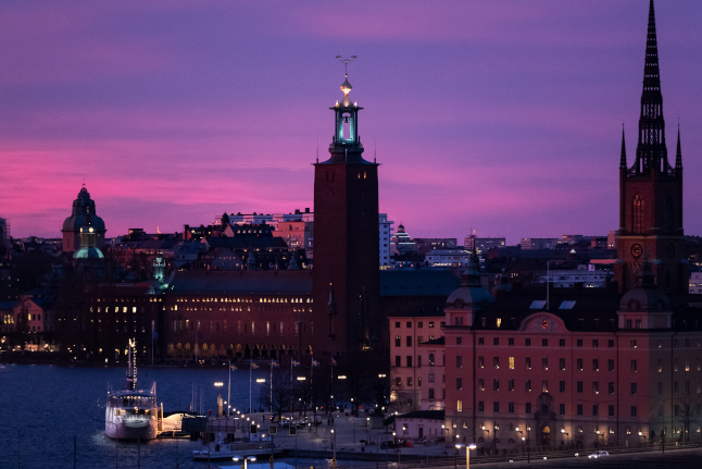 Your best pictures of the spectacular sunset in Sweden