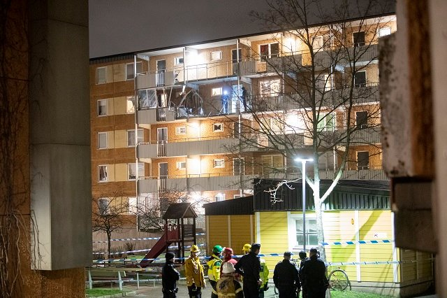 Stockholm suburb explosion: 'My door just flew in by several metres'