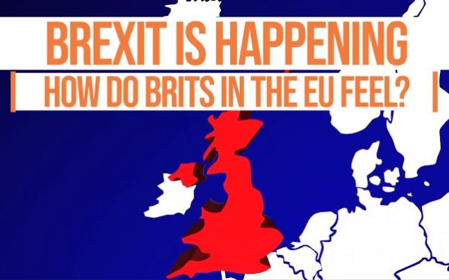 Watch: How do Brits in the EU feel about Brexit actually happening?
